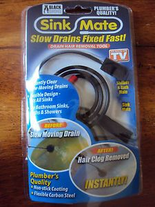Black Dog Sink Mate Slow Drains Fixed Fast as Seen on TV