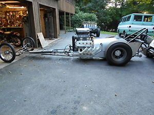 60's Front Engine Dragster 392 Hemi Hilborn Bowers Blower Lindblad Halibrand