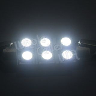 6X White SMD LED Interior Light Package Deal 2002 2006 Toyota Camry Le SE XLE