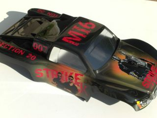 Custom Painted Body Radio Controlled Car Body 4x4 Slash RC Short Course SC10