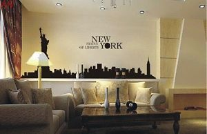 Statue of Liberty DIY Removable Wall Art Deco Decal Sticker Wall Paper 50