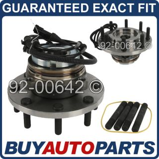Pair Brand New Front Wheel Hub and Bearing Assembly Ford Superduty Mono Beam 2WD