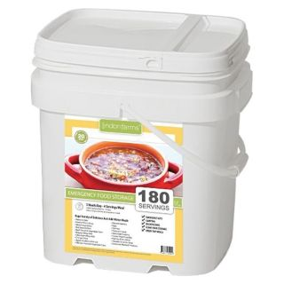 Lindon Farms 180 Stackable Emergency Food Meal Storage Kit