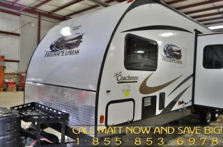 2014 Freedom Express 301BLDS Toy Hauler Travel Trailer by Coachmen RV