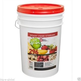 Ready Project Freeze Dried Fruit Emergency Food Storage Survival Kit 296 Serving