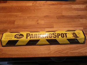 "Gates Parking Spot Car Wheel Tire Stop Curb Guide New 18"" Vinyl Construction"