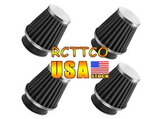 4pcs 38 39 40mm Air Filter Cleaner Motorcycle Intake System Replacement Parts