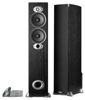 New Polk Audio RTI A5 Home Theater Floor Standing Speaker Black RTIA5 Tower Main