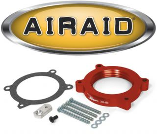 Airaid 200 606 Poweraid Throttle Body Spacer 07 12 Avalanche Sierra Silverado