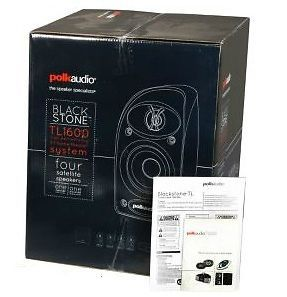 New Polk Audio TL1600 Blackstone Home Theater Audio Speaker System TL 1600 5 1CH