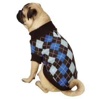 Zack Zoey Argyle Prep Dog Sweater Pet Sweaters Preppy Plaid