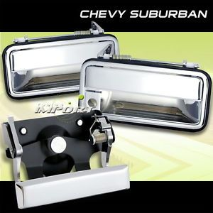 94 95 96 97 97 Chevy Silverado Sierra Chrome Door Tail Gate Handle Rear Door