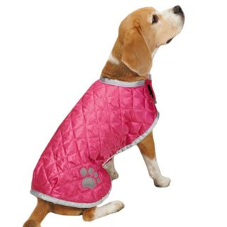 Casual Canine Quilted Nor'Easter Dog Coat Jacket Blanket Fleece Lined Reflective