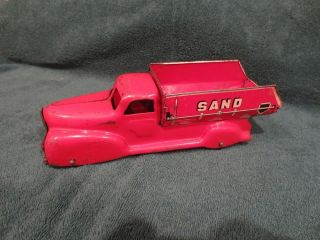 Vintage Marx Sand and Gravel Truck