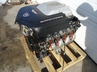 2010 Cadillac cts V LSA 6 2 Supercharged Engine Liftout Swap LS1 LS2 LS3 LS7