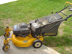 SRC621 Cub Cadet Self Propelled Mower with Kawasaki Engine and Bagger
