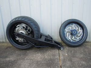 06 11 Kawasaki Ninja zx14 300 Fat Tire Kit