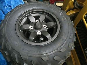 Kawasaki Brute Force Tire and Rims KVF750 Tires Rims Aluminum Wheels ATV Tires