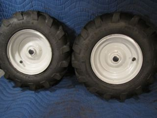 Tires Wheels Troy Bilt Horse Rototiller Tiller 4 80 8 Carlisle Power Trac
