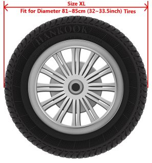 "32 33 5"" Spare Wheel Tire Tyre Cover Guarder Protector for Jeep Wrangler Liberty"