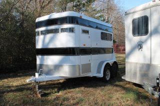 Two Horse Trailer Extra Tall Extra Wide
