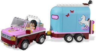 2012 Lego Friends 3186 Emma's Horse Trailer NIB Hard to Find Great Gift 5702014733176