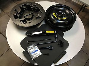 2012 2013 Hyundai Accent Spare Tire Kits with Mounted Tire on Rim