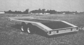 1 Car Trailer Plans Hauler Truck Farm Horse