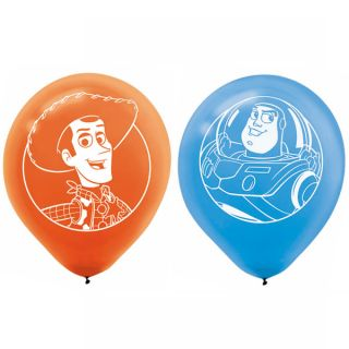 Disney Toy Story Buzz Lightyear Woody Latex Party Balloons Decorations