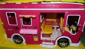 New Pink Breyer Horse Cruiser camper Van Trailer RV Fits Pony Gals Classic