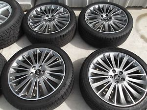 "19"" Lincoln MKZ 2013 Wheels Tires Rims Michelin"