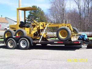 Basic Model B601 Mini Road Grader Perfect for Your Gravel Road or Driveway