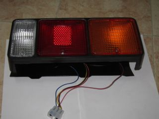 2X Mitsubishi Canter Truck Trailer Combination Rear Tail Lamp Light with Bulbs