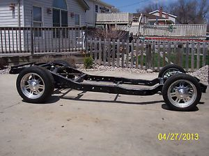 Hot Rod Frame Rat Rod Willys S10 Rolling Chassis