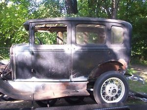 1930 Model A Ford Fordor Sedan Hot Rod Rat Rod Car Body