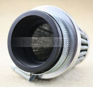 50mm Air Filter Cleaner Honda Kawasaki Yamaha Motorcycle Dirt Bike ATV Scooter