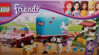 Lego Friends Emma's Horse Trailer 3186 5702014733176