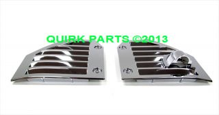 2004 2009 Hummer H2 SUV SUT Chrome Side Air Vents Brand New Genuine