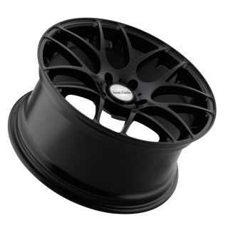 "20"" Avant Garde M310 Matte Black Wheels Rims Fit Ford Mustang GT with Brembo"
