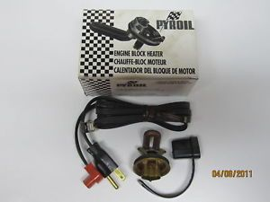 58 92 Ford GM Mopar Engine Block Heater Pyroil 636