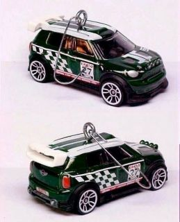 2012 Mini Cooper Countryman Rally Car Christmas Tree Ornament 12