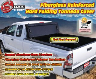 "Bak Fibermax Hard Folding Tonneau Cover for 2004 2013 Ford F 150 6'6"" Bed"