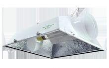"Sun System 8"" Blazer Air Cooled Reflector Grow Light Hydroponics Hood MH HPS New"