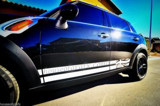 Mini Cooper Countryman Clubman s Rocker Decals Graphics Stripes Stripe