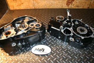 2000 KTM640 KTM 640 Duke II LC4 Motor Engine Crank Cases with Bearings in Spec