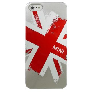 New Offically Licensed Mini Cooper iPhone 5 UK British Case MNHCP501GR Silver