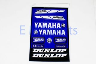 Mini Moto Pocket Bike ATV Dirt Bike Super Bike Scooter Yamaha Sticker Parts