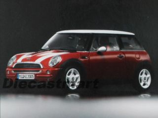 Kyosho 1 18 2005 BMW Mini Cooper One Aerodynamics Package New Diecast Model Red