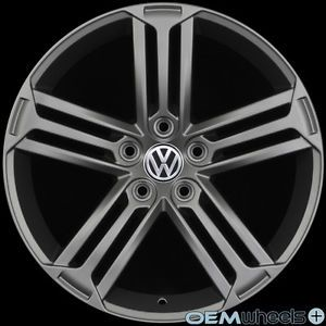 "18"" Gun Golf R Style Wheels Fits VW CC EOS Golf GTI Jetta MK5 MKV Passat B6 Rims"