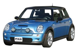 Piaa Mini Cooper Rally Driving Fog Light Kit w Covers